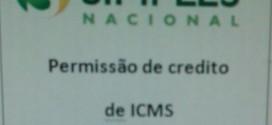 Novo Regime do Simples Nacional – Permissão de Crédito de ICMS – A partir de 01/01/2018